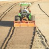 Rototill infields up to 6
