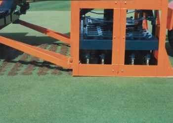 Deep Aerification for Greens and Fields